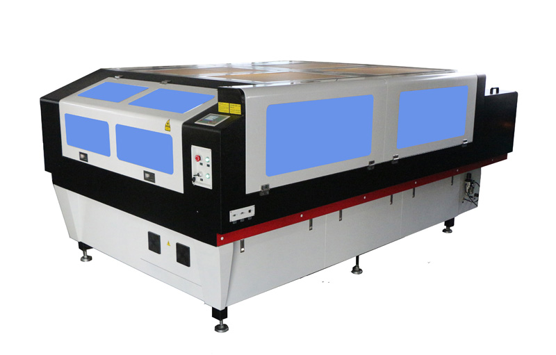 Whole sealing nonmetals laser cutting machine